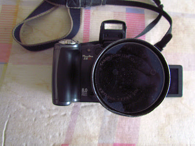 [ Canon S5IS with lens barrel from Lensmate ]